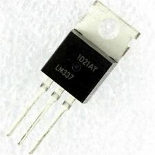 10pcslot Lm337t Lm337 To 220 Negative Adjustable Regulator Ic In Stock