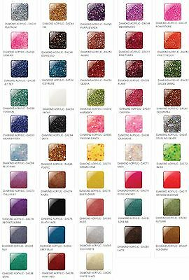 Glam & Glits Nail Design DIAMOND ACRYLIC POWDER Variations DAC43 - DAC90 1oz/30g