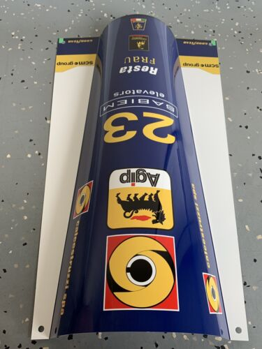 WOW!!!Curved FORMULA 1 F1 Lamborghini Minardi Racing sign Race Car nose Style