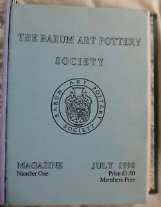 BRANNAM-POTTERY-first-10-issues-of-the-Barum-Art-Pottery-Society-magazine