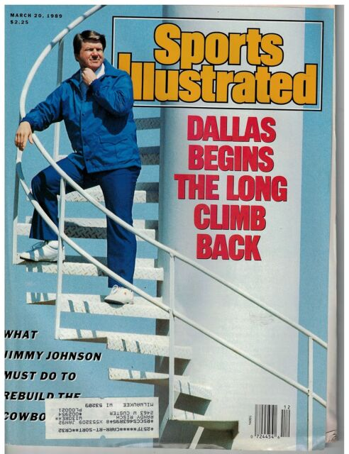 March 20 1989  issue of Sports Illustrated Cowboy's New Coach Jimmy Johnson