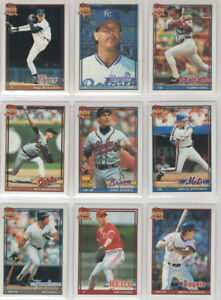 1991-Topps-Baseball-True-Team-Set-Pick-Your-Team-Your-Choice-with-Traded