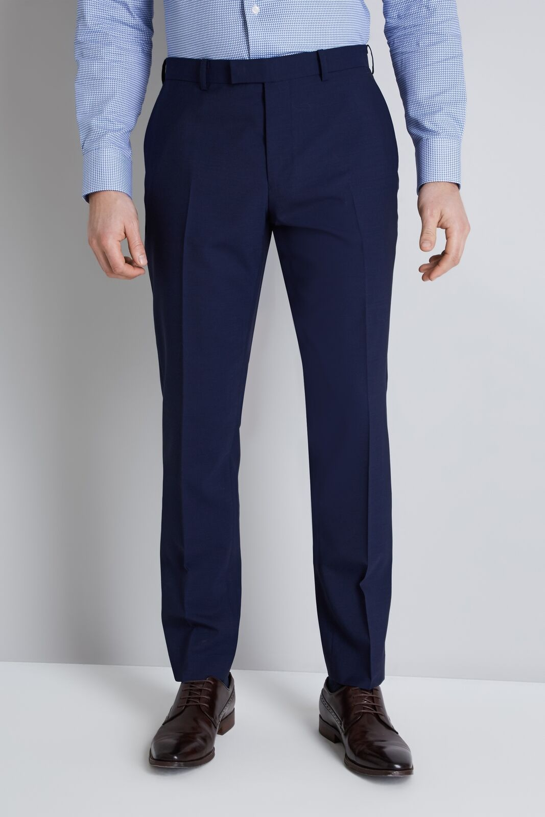 Lanificio F.Lli Cerruti Dal 1881 Cloth bluee Trousers Itravel Tailored Fit Pants