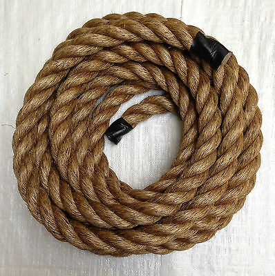 24mm Synthetic Manila Rope x 50 Metres Garden /& Boating Manila For Decking