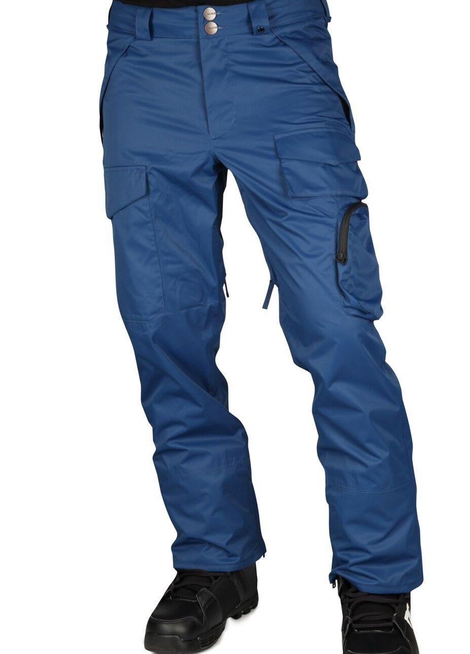 Analog Provison Snowboard Hose (M) Blau River
