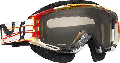 Scott Tyrant Snocross Black ACS Rose Goggles Snowmobile Goggle ATF Racing Down