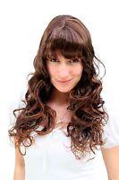 Wig: Natural Brunette Curly Points, Wig