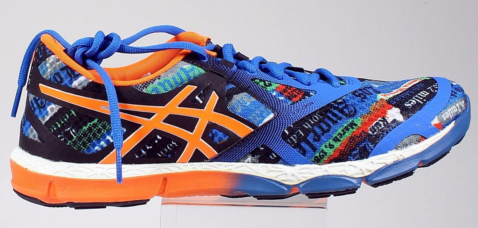 Asics 2015 LA marathon Men's US sizes  running shoes intense graphics graffiti