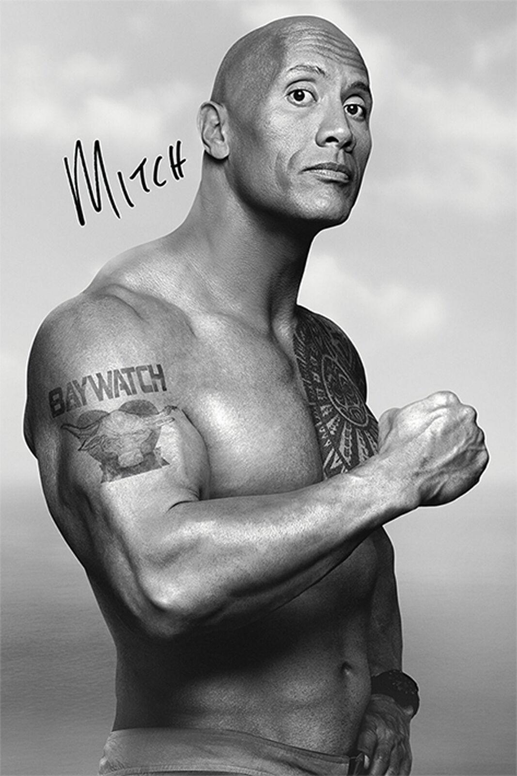 Baywatch - Mitch - Film Kino TV Action Komödie Poster - Größe 61x91,5 cm