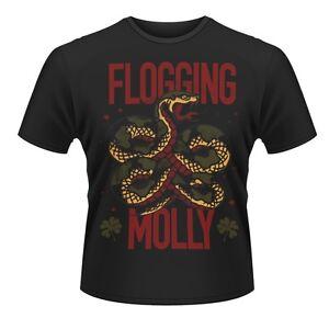 Ausdauernd Flogging Molly Fanartikel & Merchandise Snake T-shirt Wohltuend FüR Das Sperma