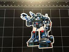 Transformers G1 Hound box art vinyl decal sticker Autobot 1980s 80s toy