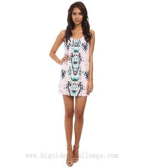 Mara hoffman Maristar Lilac Shift Dress XS NWOT