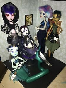 Monster-Hight-doll-lot-Witch-Elements-5-Dolls