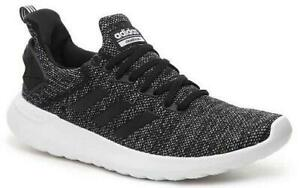 Details about Adidas Cloudfoam Lite Racer Men's Running Shoes Black+White  Sneakers DB1592