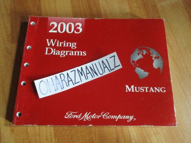 2003 Ford Mustang Wiring Diagrams Manual Oem