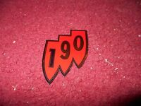 1962 Buick Skylark Special 190 Shield Air Cleaner Top Lid Decal Sticker