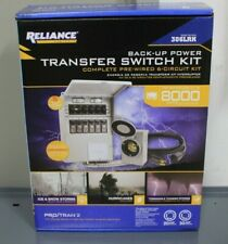 Reliance Controls Back Up Power 6 Circuit Transfer Switch Kit