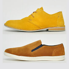 Mens Ikon Classic SUEDE LEATHER Smart Casual Dress Fasion Shoes