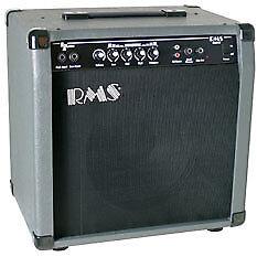 "RMS B40 40-Watt Electric Bass Guitar Amp Amplifier with 10"" Speaker"