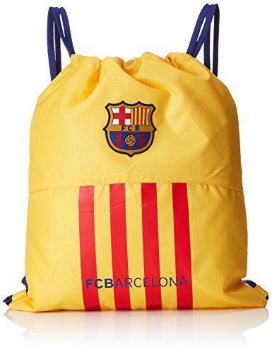 8412688233489 FC BARCELONA GYM BAG DRAWSTRING SPORTS BOOT BAG
