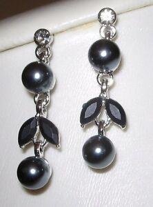 elegante-Blumen-Ohrstecker-Ohrringe-versilbert-mit-Swarovski-Elements-schwarz