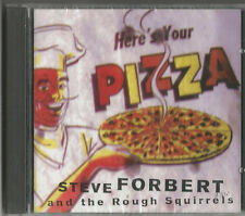 "STEVE FORBERT  and the Rough Squirrels ""Here´s your Pizza""  CD 1997 NEU & OVP"