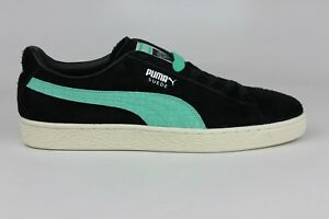 2aa80886558b PUMA SUEDE DIAMOND SUPPLY CO. BLACK BLUE WHITE MENS SIZE SNEAKERS ...