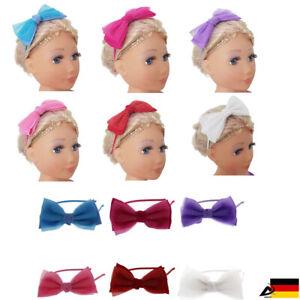 Haarreif Glitzer Doppelt Schleife Haarschmuck Damen Haarband Kopfschmuck Zha222 High Resilience Hair Accessories