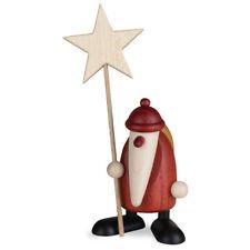 Björn Köhler-Weihnachtsmann mit Weihnachtsgans Auguste 9cm Art.Nr.:6095 NEU//OVP