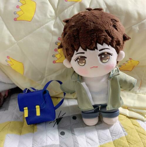 Time Raiders Wu Xie 吴邪 Zhang Qiling 张起灵 Plush 20cm Doll Clothes Clothing Outfit