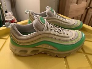 Details about Nike Air Max 97 360 Radiant Green Yellow White Mens Size 12 {315860 311}