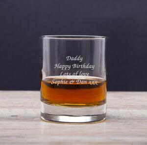 Personalised Engraved Whisky Tumbler