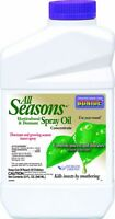 Horticultural Dormant Spray Oil Conc 1 Qt Fruit Trees Vegetables Shrubs Roses