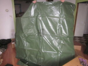 MILITARY-SURPLUS-COVER-FITTED-TRUCK-TRAILER-equipment-5x5x3-approx-cargo-tarp