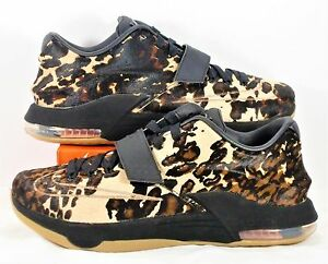buy online 64f73 a2cbc Image is loading Nike-KD-7-VII-EXT-QS-Texas-Longhorn-