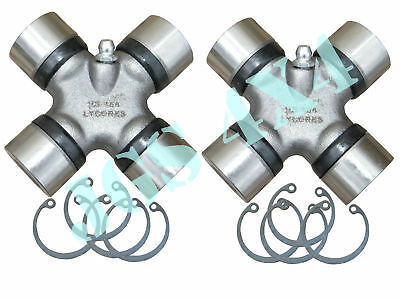 "LAND ROVER SERIES 2A & 3 88"" & 109""  PROPSHAFT UNIVERSAL JOINT UJ X 2"
