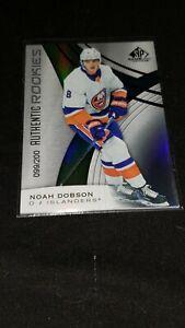 Noah-Dobson-2019-20-Upper-Deck-SP-Authentic-Rookies-200-Islanders-PWE