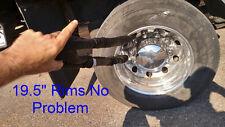 "3/4"" x 8' SYNTHETIC RIM SLING  Wrecker Winch WHEEL LIFT STRAP 10960 lb WLL"