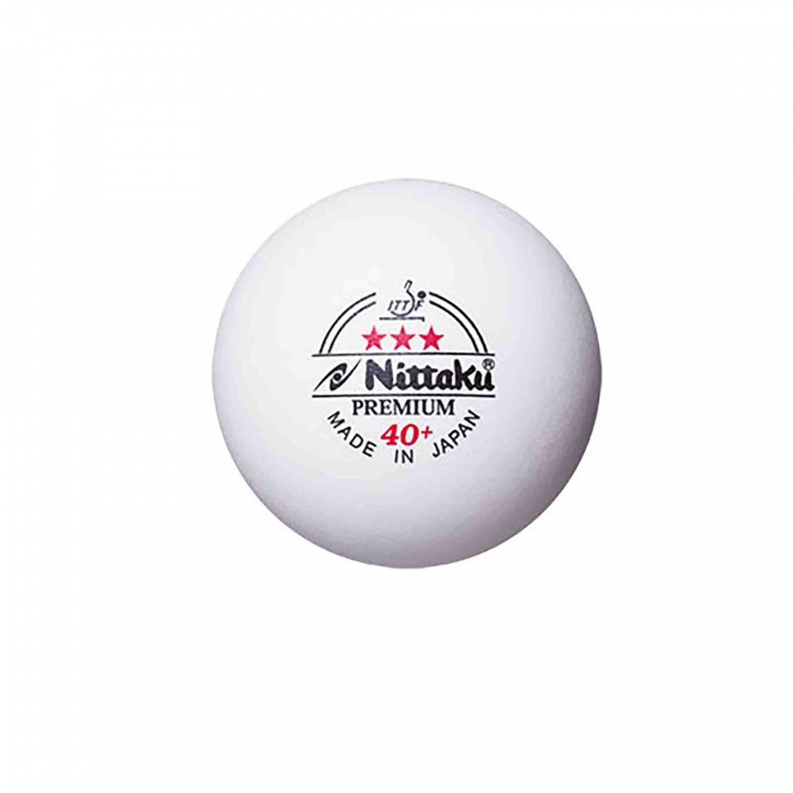 Nittaku Tischtennis Ball Premium 40+    Cell Free 120er weiß- ZUM SONDERPREIS  | Verrückter Preis, Birmingham  | Professionelles Design  | Verschiedene Waren  2f6c7c