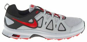 6335a581797f Mens Nike Air Alvord 10 Trail Running Shoes Grey Gray Black Red ...