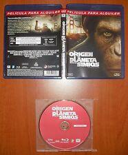 El origen del Planeta de Los Simios (Rise of the Planet of The Apes) Blu-Ray A B