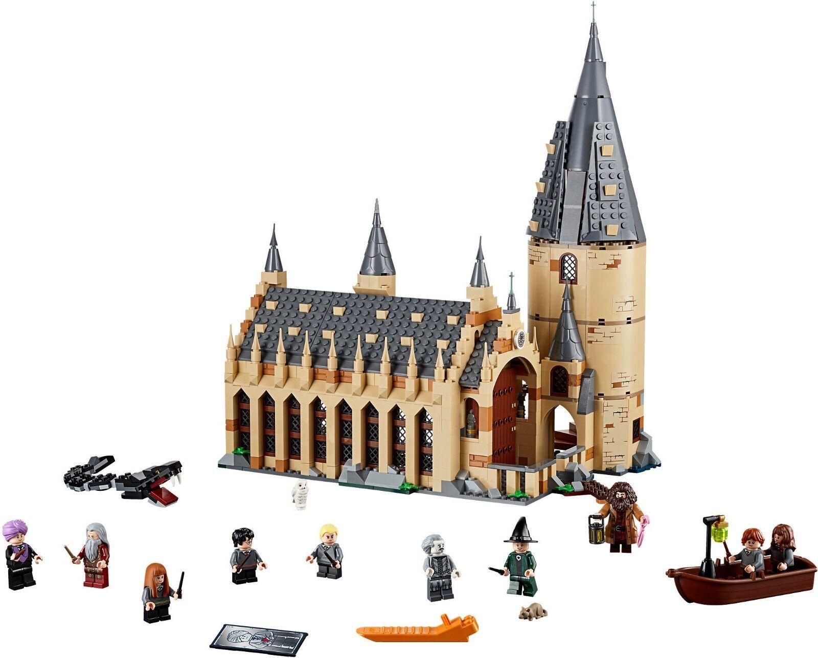 LEGO Harry Potter 75954 - La Sala Grande Grande Grande Di Hogwarts NUOVO a9a123