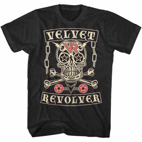 Velvet Revolver Skull Album Cover Men/'s T Shirt Stars Metal Rock Band Tour Merch