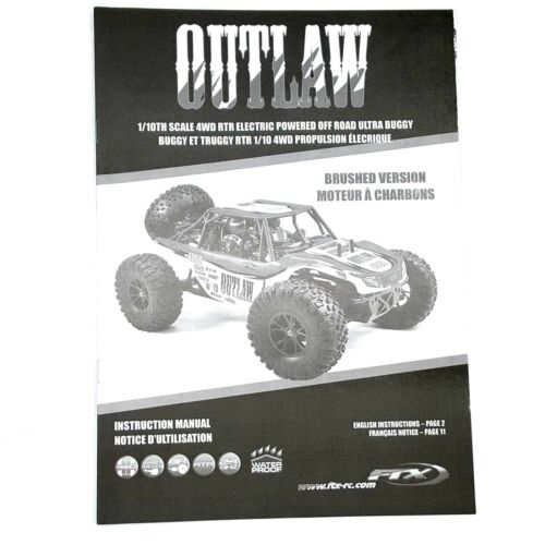 4 Links De Chassi Traseiro FTX Outlaw 1//10 Ultra