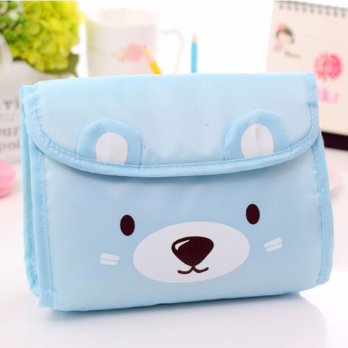 Cute Bear Travel Storage Bags Clothes Packing Cube Luggage Sundries Organizer