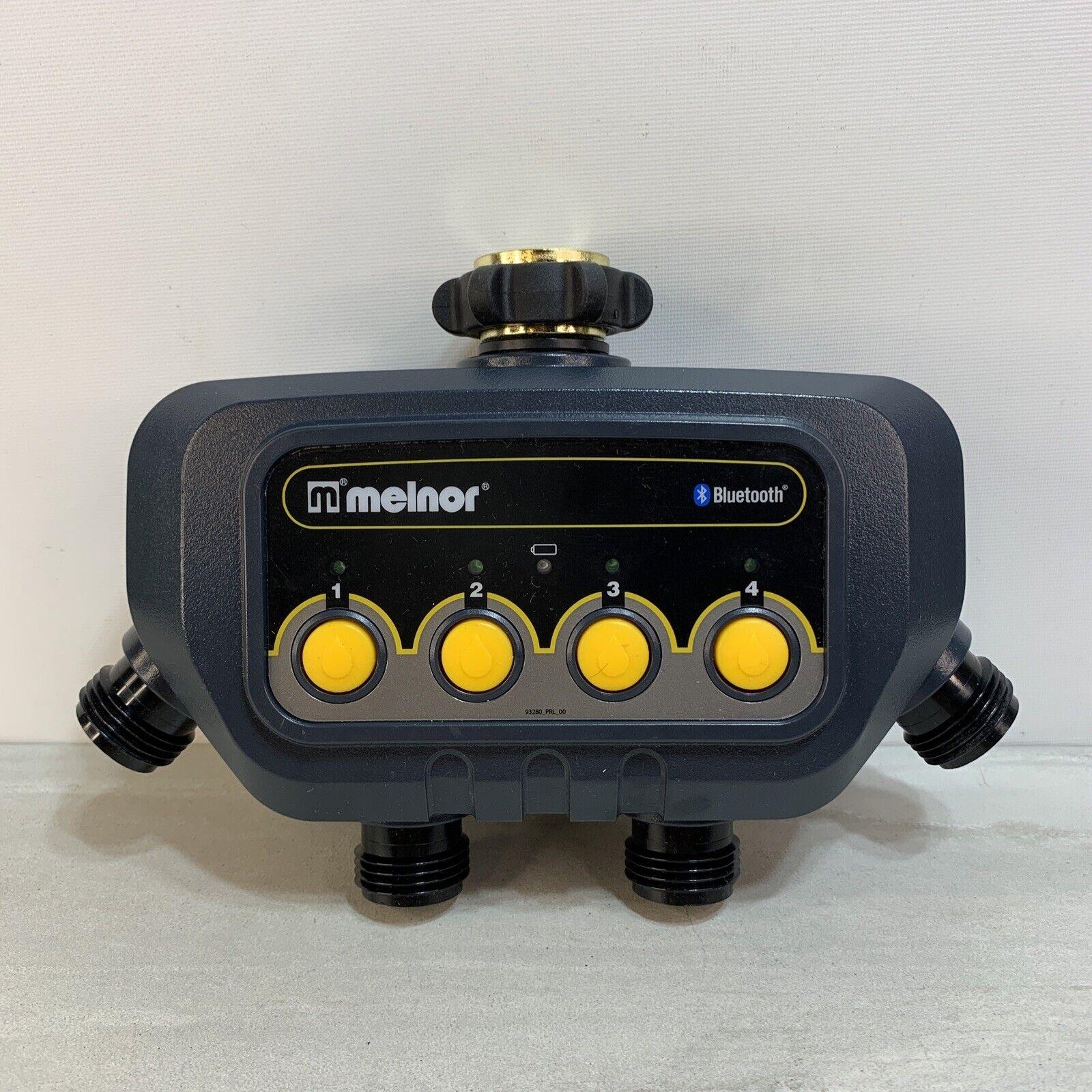 Melnor 93280 4-Zone Bluetooth Water Timer - Open Box