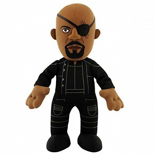 Marvel Avengers Age of Ultron Nick Fury 10inch Plush Bleacher Creatures