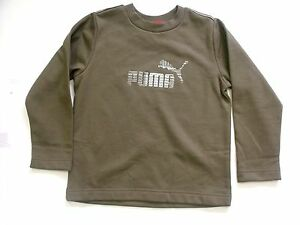 Kids Boys Puma Top In Green Colour!!!! Men's Clothing Activewear