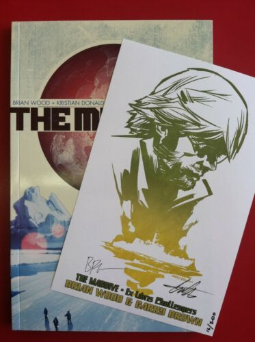 The Massive Vol 1 Ex Libris Challengers EXCLUSIVE Signed Bookplate