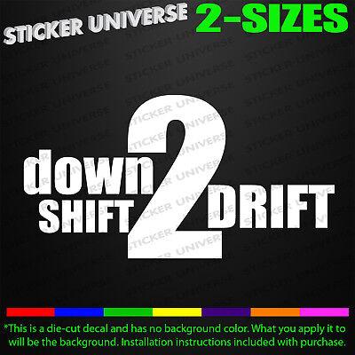 Drift Japan Car Window Decal Bumper Sticker JDM Illest Racing Euro Drifting 0592